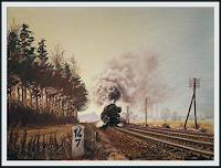 Bernd-Kauschmann-Miscellaneous-Traffic-Railway-Modern-Times-Realism
