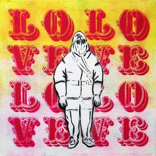 c.mank, Aussenansichten #Love, Miscellaneous, Pop-Art