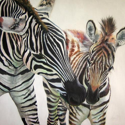 Vera Käufeler, Cleo und Patra, Animals: Land, Expressionism