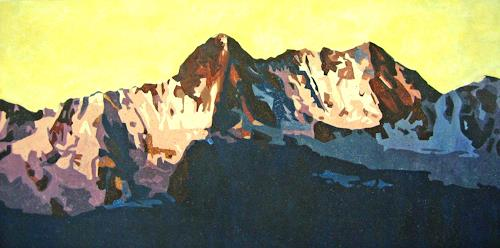 Vera Käufeler, Abendlicht, Landscapes: Mountains