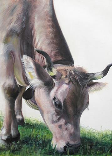 Vera Käufeler, Colombina, Animals: Land, Abstract Art