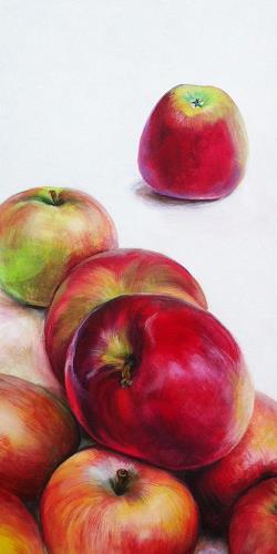 Vera Käufeler, Neue Ernte 1, Plants: Fruits, Times: Autumn, Expressionism