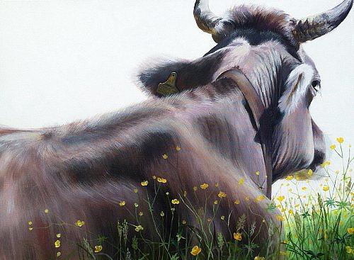 Vera Käufeler, Bellfleur, Nature, Animals: Land, Abstract Art, Expressionism