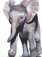 Vera-Kaeufeler-Animals-Nature-Modern-Age-Abstract-Art