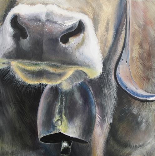 Vera Käufeler, Senta's Bell, Animals: Land, Nature, Abstract Art