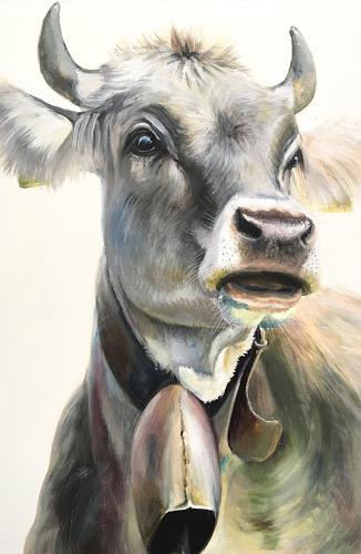 Vera Käufeler, Barbla, Animals: Land, Nature, Photo-Realism, Expressionism