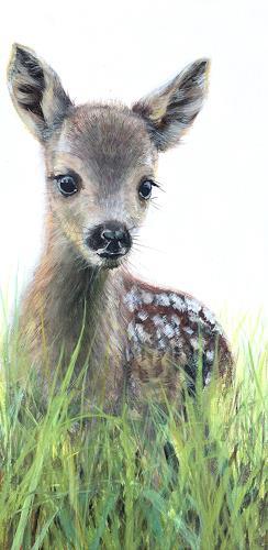 Vera Käufeler, Bamby, Animals: Land, Nature, Photo-Realism, Expressionism
