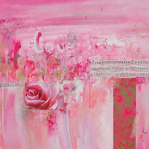 Xiaoyang Galas, Love, Abstract art, Emotions: Love, Abstract Art, Expressionism