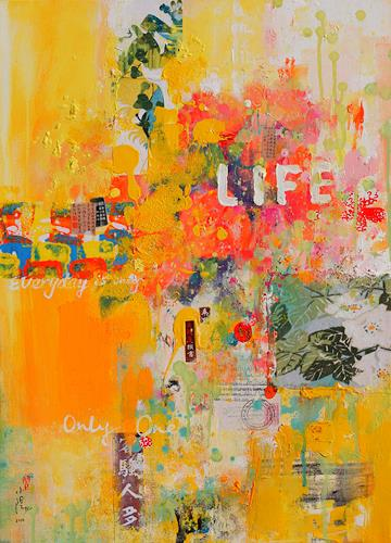 Xiaoyang Galas, Life, Abstract art, Emotions: Joy, Contemporary Art