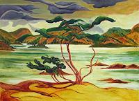Michael-Doerr-Landscapes-Sea-Ocean-Landscapes-Autumn-Modern-Age-Naturalism