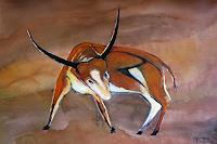 Michael-Doerr-Animals-Land-Fantasy-Modern-Age-Expressionism-Der-Blaue-Reiter