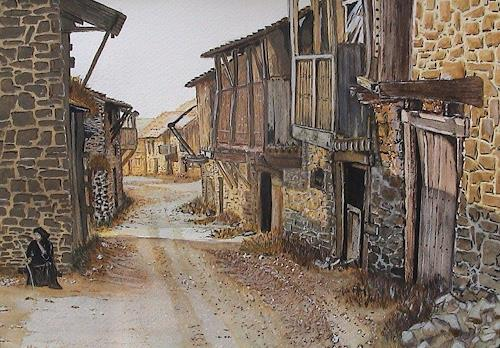 Michael Doerr, Milvica, Miscellaneous Landscapes, Miscellaneous Buildings, Concrete Art, Expressionism