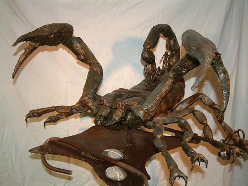 Jan Kocnar  Kral Smetana, Skorpion Arche, Mythology, People: Group, Surrealism