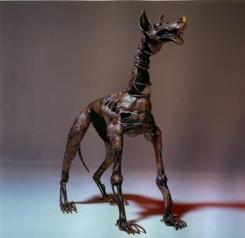 Jan Kocnar  Kral Smetana, Dog Toggenburg, Burlesque, Fantasy, Surrealism, Abstract Expressionism