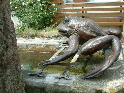 Jan Kocnar  Kral Smetana, Frösch, Nature: Water, Animals: Water, Naturalism