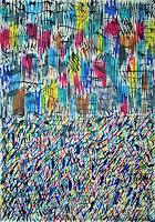 Inese-Dzervinika-Fantasy-Modern-Age-Abstract-Art-Action-Painting