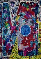 Inese-Dzervinika-Abstract-art-Modern-Age-Abstract-Art-Non-Objectivism--Informel-