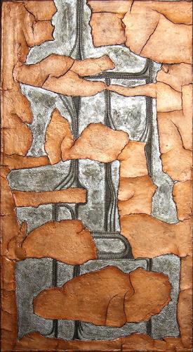 Heike Bender, Relikt, Abstract art, Fantasy, Modern Age