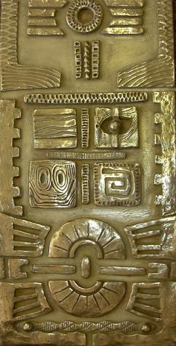 Heike Bender, Dogon - Detail unten, Symbol, Mythology, Modern Age