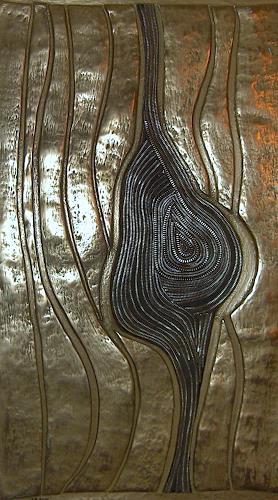 Heike Bender, Nodus, Abstract art, Fantasy, Modern Age, Expressionism