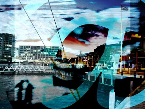 Beate Kratt, Connected - day@night, Technology, Movement, Contemporary Art