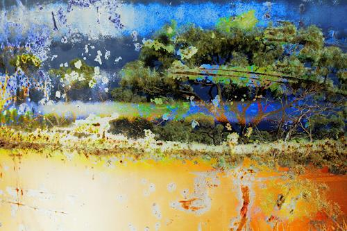 Beate Kratt, DREAMING, Miscellaneous Landscapes, Abstract art, Contemporary Art, Expressionism