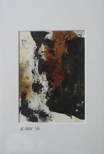 Karin Völkl, o. T., Abstract art, Non-Objectivism [Informel]