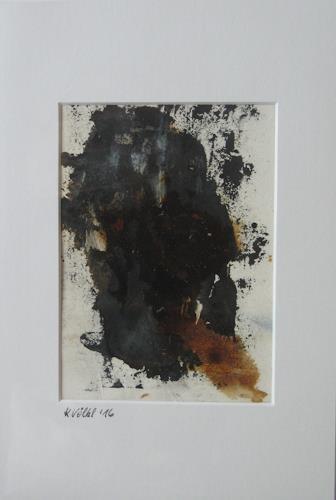 Karin Völkl, o. T:, Abstract art, Non-Objectivism [Informel]