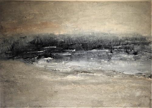 Karin Völkl, Landschaft, Abstract art, Non-Objectivism [Informel]