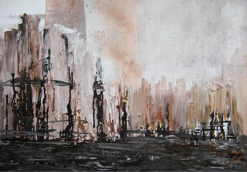 Karin Völkl, Industriekultur, The world of work, Non-Objectivism [Informel], Abstract Expressionism