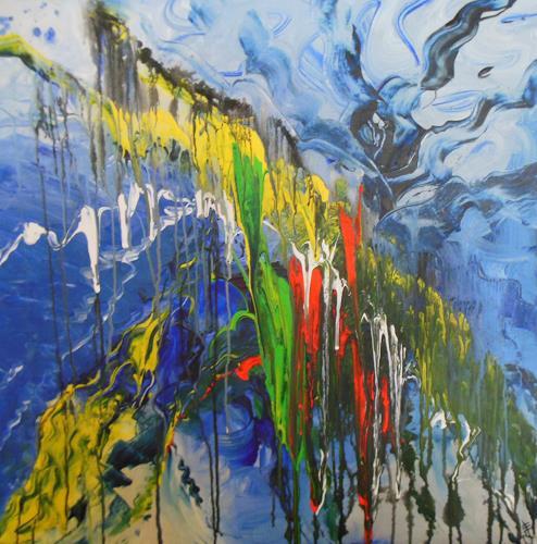 Christine Haiden, IMPULSIV, Abstract art