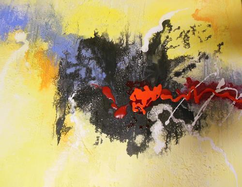 Christine Haiden, LEIDENSCHAFT, Abstract art