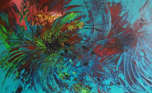 Christine Haiden, EMOTION, Abstract art
