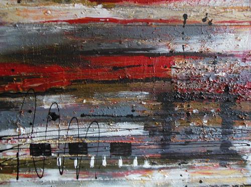 Christine Haiden, AUFRUHR, Abstract art