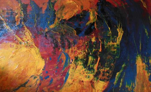 Christine Haiden, CANGO CAVE, Abstract art