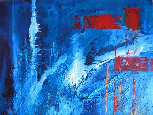 Christine Haiden, VERGÄNGLICH, Abstract art