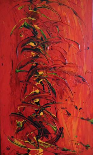 Christine Haiden, FEGEFEUER, Abstract art