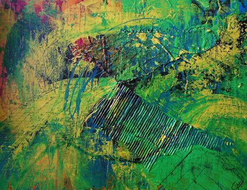 Christine Haiden, FANTASIA, Abstract art