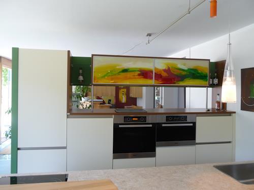 maria kammerer, Acryl auf Glas, Abstract art, Modern Age