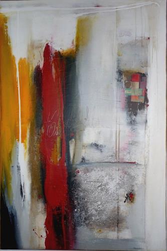 maria kammerer, Mischtechnik auf Leinwand, Abstract art, Modern Age