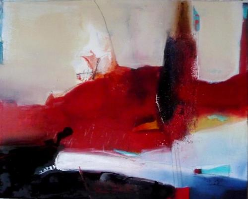 maria kammerer, Hafenstadt, Abstract art, Modern Age, Abstract Expressionism
