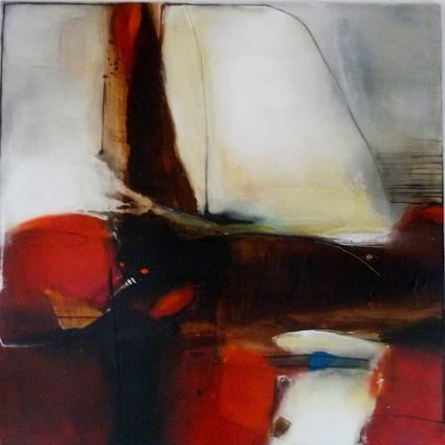 maria kammerer, Der Weg ins Ungewisse, Abstract art, Modern Age, Expressionism