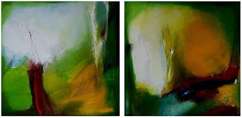 maria kammerer, Sonnenwende, Abstract art, Modern Age