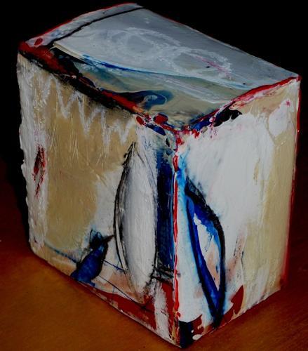 maria kammerer, Acryl auf Würfel, Abstract art, Modern Age