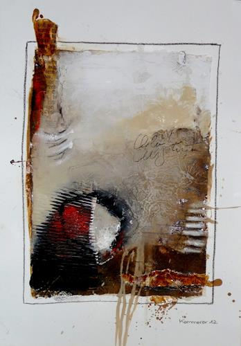 maria kammerer, Neugier!, Abstract art, Modern Age, Abstract Expressionism