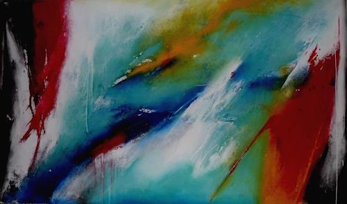 maria kammerer, frischer Wind, Abstract art, Modern Age, Expressionism
