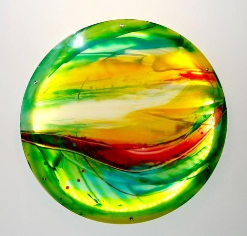 maria kammerer, Acryl auf Plexiglas, Abstract art, Modern Age
