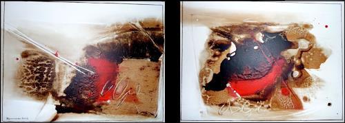 maria kammerer, Himmel oder Hölle, Abstract art, Modern Age, Expressionism