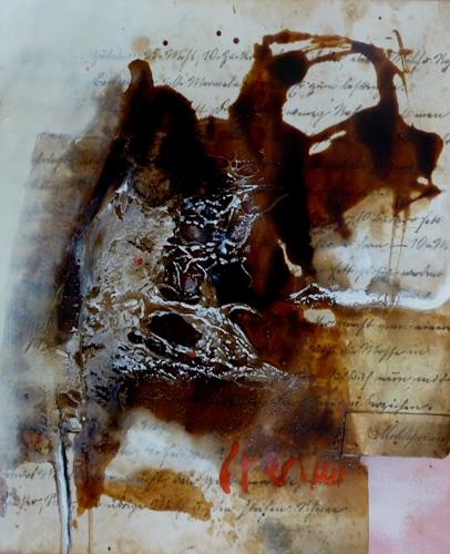 maria kammerer, Menü des Tages 10, Abstract art, Abstract Art