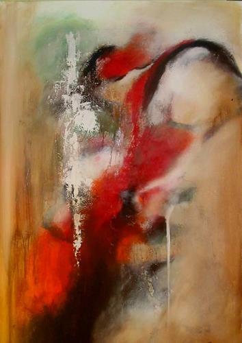 maria kammerer, Wasserfall, Abstract art, Modern Age, Expressionism